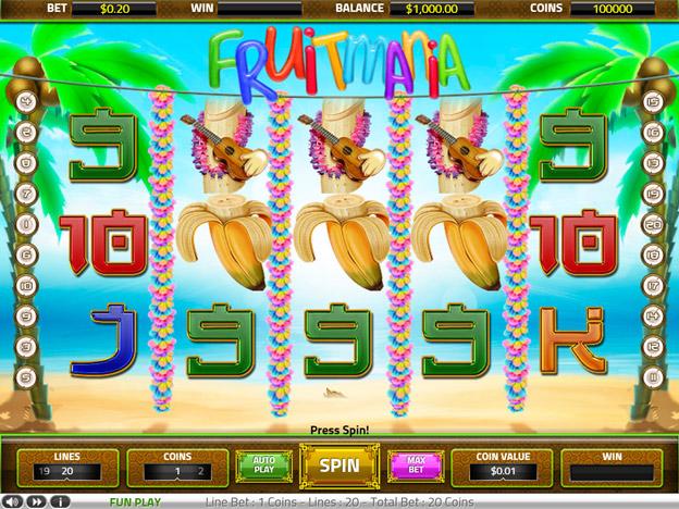 Игровой автомат фруктомания