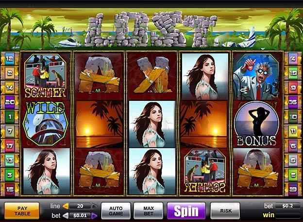 Игровой автомат Lost On The Island играть онлайн