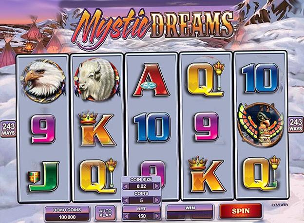 Игровой автомат Таинственные Сны онлайн