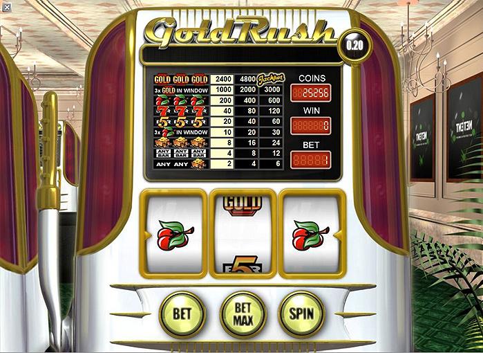 Игровой Автомат Gold Rush Playson
