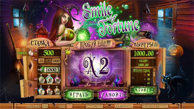 Игровой автомат Улыбка Фортуны