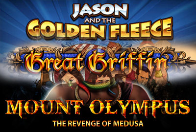 Great Griffin, Jason and the Golden Fleece и Mount Olympus