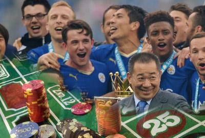 Игрокам «Лестера» выплатили по 10 тыс. фунтов стерлингов для отмечания чемпионства в казино