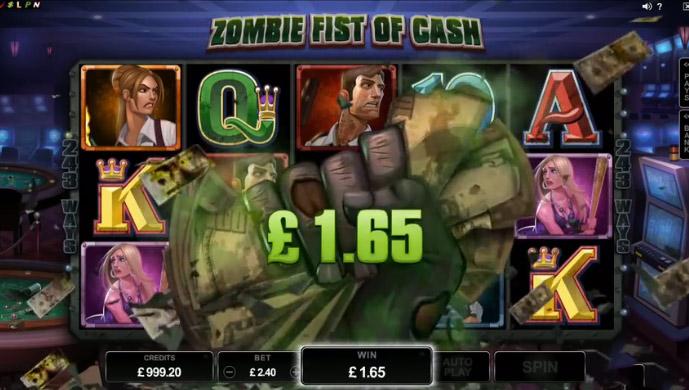 zombie fist of cash