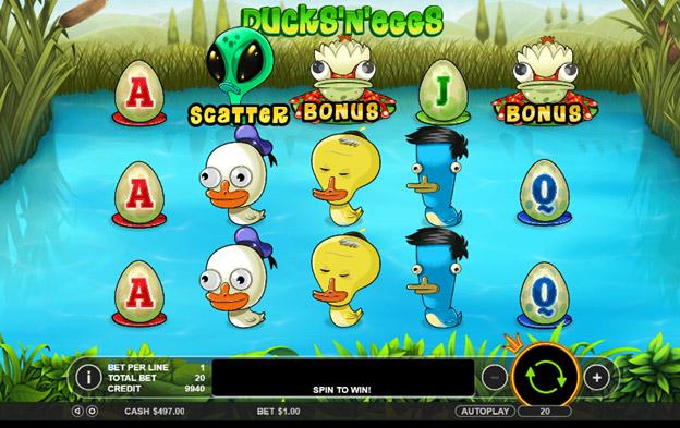 Игровой слот Ducks'n'Eggs