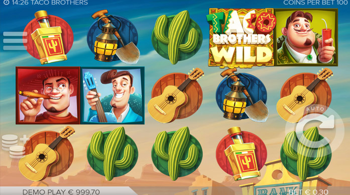 Игровой слот Taco Brothers