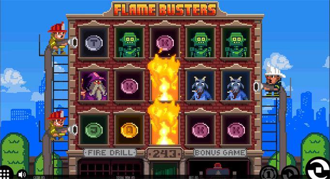 Игровой слот Flame Busters