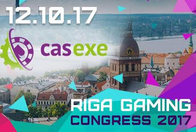 CASEXE - участник Riga Gaming Congress 2017