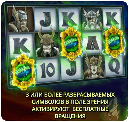 Игровой слот Legend of Loki
