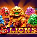 Игровой слот 5 Lions