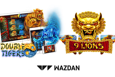 Wazdan представил два новых слота 9Lions и Double Tigers