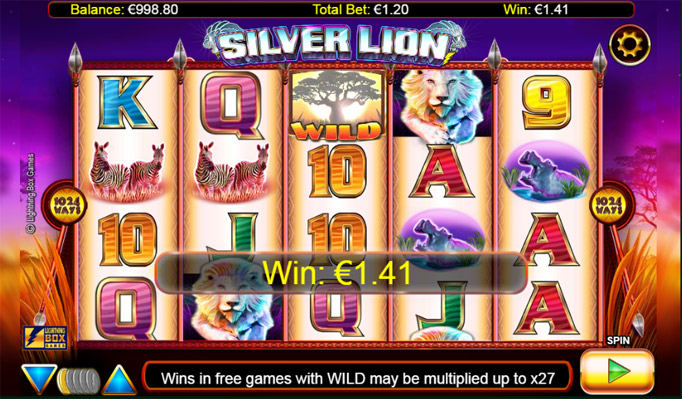 Игровой слот Silver Lion