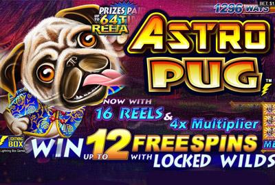 Lightning Box представил новый игровой автомат Astro Pug