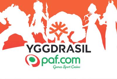 Yggdrasil соглашается заключить сделку с оператором Paf
