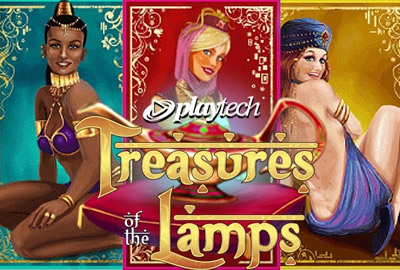 Playtech объявляет о выпуске слота Treasures of the Lamps