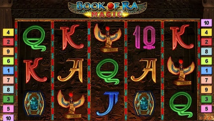 Онлайн слот Book Of Ra Magic на деньги