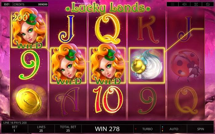 Игровой автомат Lucky Lands на деньги