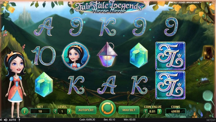игровой автомат Fairytale Legends: Mirror Mirror  играть на деньги