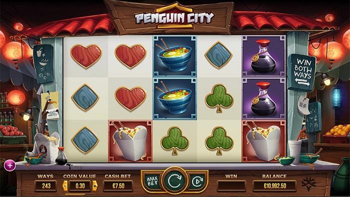 Игровой автомат Penguin City играть бесплатно