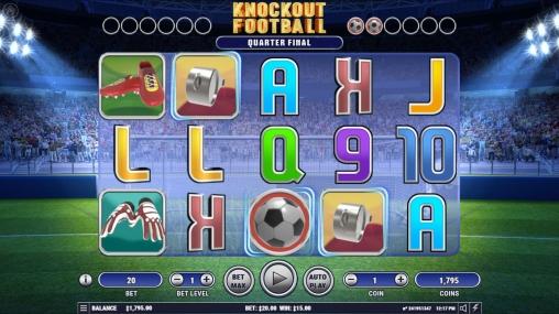 Игровой автомат Knockout Football