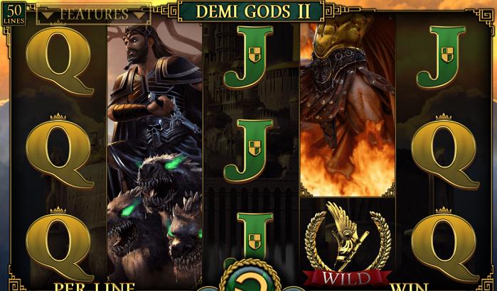 Игровой автомат Demi Gods II
