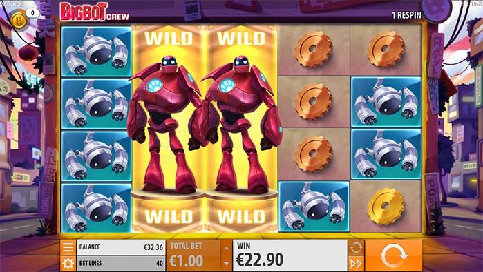 Игровой автомат Big Bot Crew без регистрации