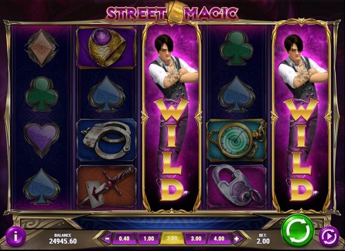 Онлайн слот Street Magic бесплатно