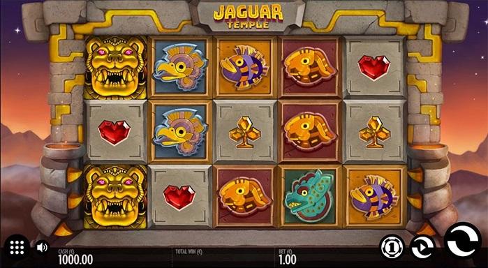 Игровой автомат Jaguar Temple