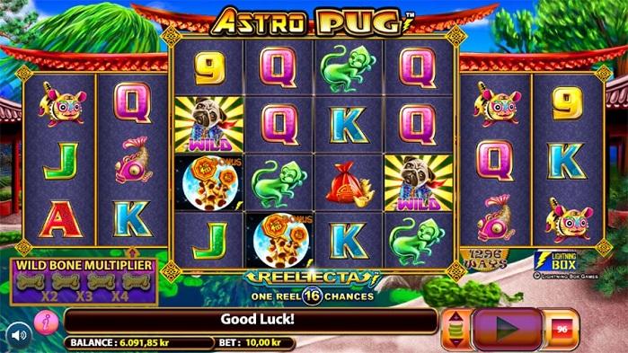 Игровой автомат Astro Pug