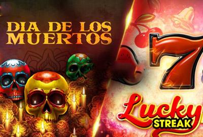 Lucky Streak и Dia De Los Muertos