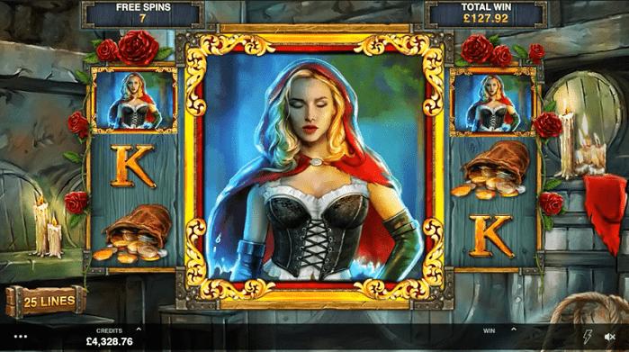 Игровой автомат Wicked Tales: Dark Red на деньги