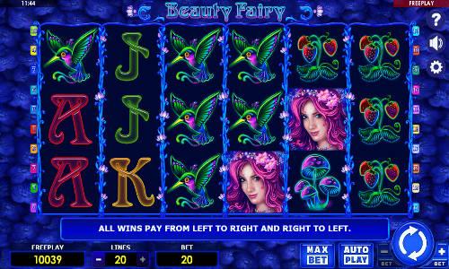 Игровой автомат Beauty Fairy без регистрации
