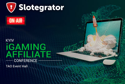 Slotegrator проведет видеотрансляцию с Kyiv iGaming Affiliate Conference