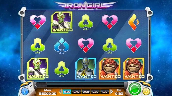 Игровой автомат Iron Girl на деньги