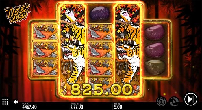 Игровой автомат Tiger Rush бесплатно