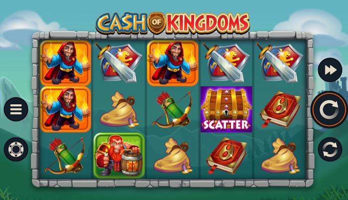Игровой автомат Cash of Kingdoms на деньги