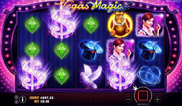 Игровой автомат Vegas Magic на деньги