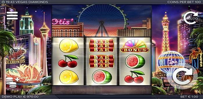Игровой автомат Vegas Diamonds