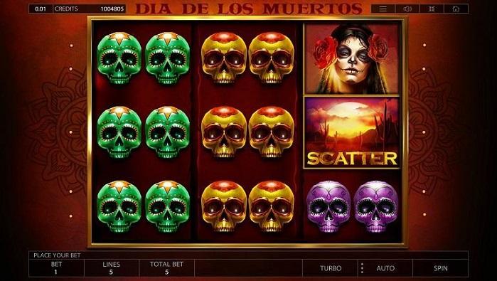 Игровой автомат Dia De Los Muertos