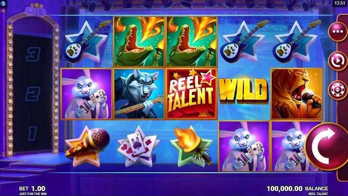 Игровой автомат Reel Talent