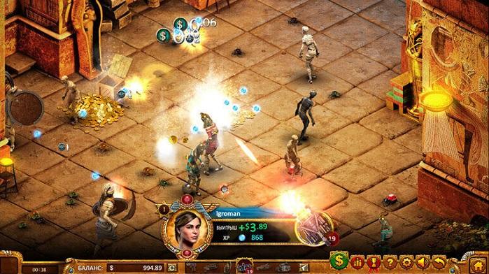 Игровой автомат Max Quest: Wrath of Ra
