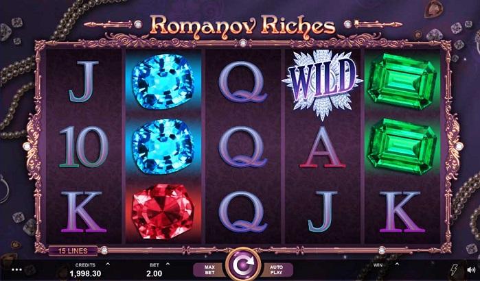 Игровой автомат Romanov Riches