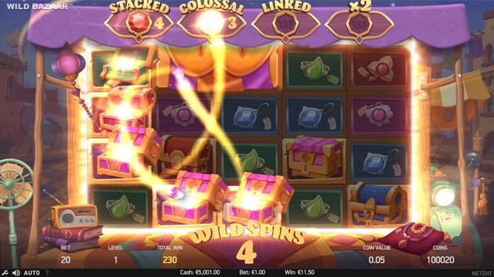 Игровой автомат Wild Bazaar