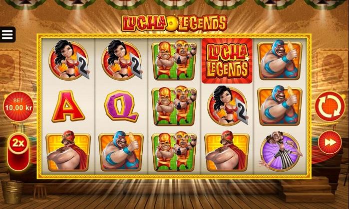 Игровой автомат Lucha Legends