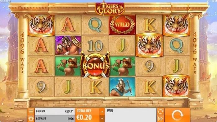 Игровой автомат Tiger's Glory играть бесплатно