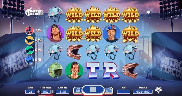 Игровой автомат Nitro Circus на деньги