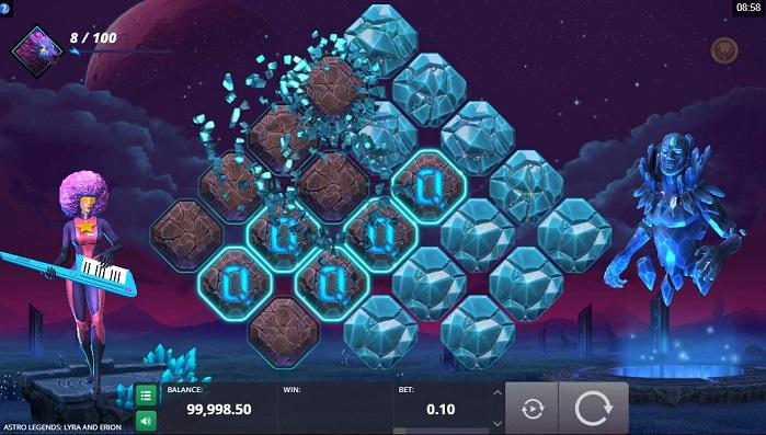 Игровой автомат Astro Legends: Lyra and Erion