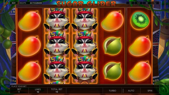 Игровой автомат Sugar Glider