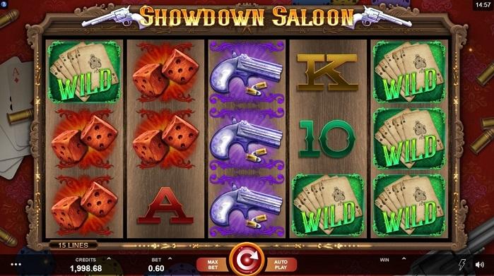 Игровой автомат Showdown Saloon