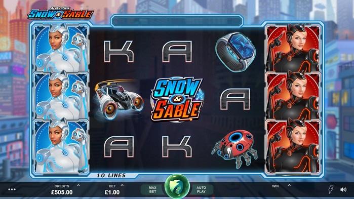 Игровой автомат Action Ops: Snow and Sable